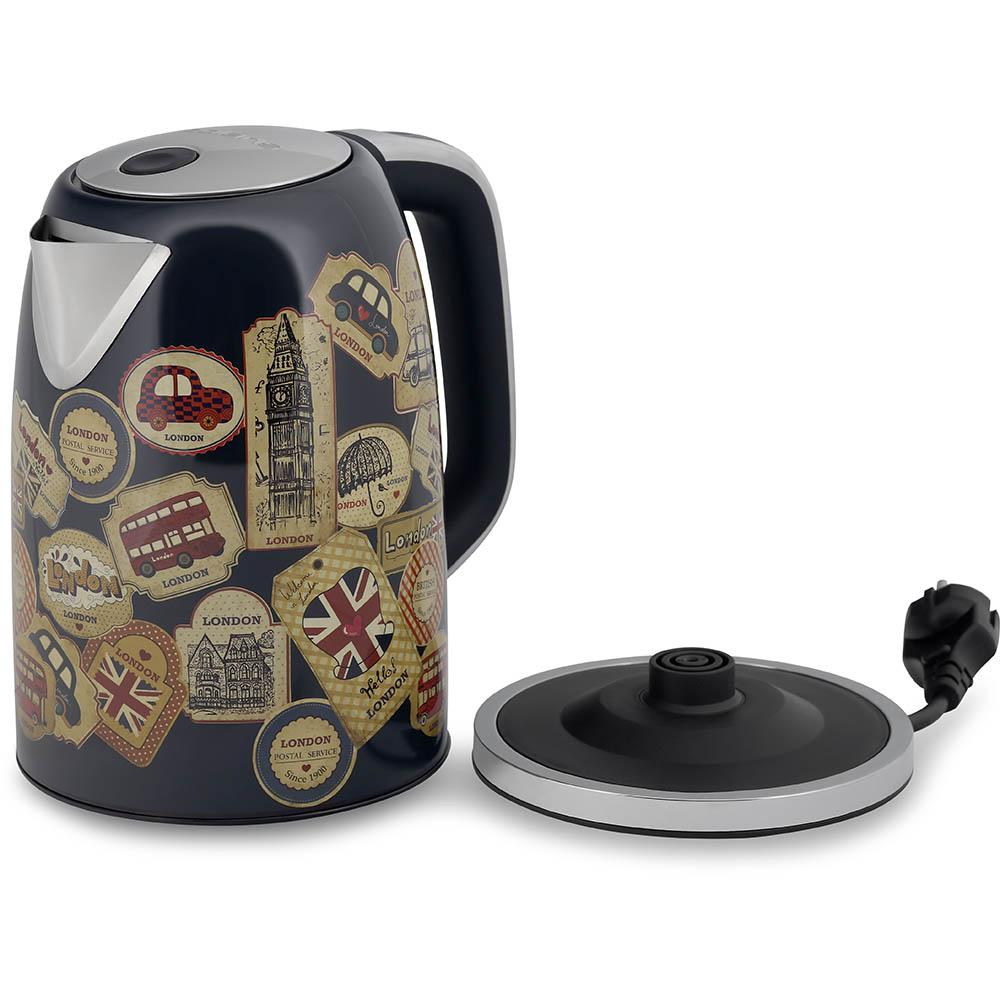 чайник с картинками лондона твердения